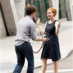James McAvoy and Jessica Chastain film The Disappearance Of Eleanor Rigby 122559