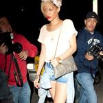 Rihanna leaving restaurant Giorgio Baldi in Malibu 109503