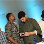 Drake and Rihanna together at Terrasses Bonsecours  87401
