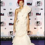 Rihanna at the EMAs in Madrid 2010  72547
