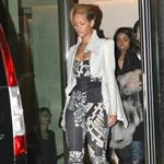 Rihanna in Paris yesterday  50484