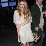 Riley Keough at Anna Sui during NY Fashion Week 17018