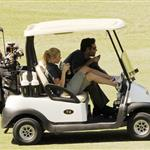 LeAnn Rimes and Eddie Cibrian step out together as a couple to play golf 45243