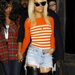 Rihanna at Roxbury night club in Hollywood, California 104789