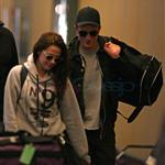 Kristen Stewart and Robert Pattinson leave Vancouver after Twilight final reshoots 113244