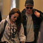 Kristen Stewart and Robert Pattinson leave Vancouver after Twilight final reshoots 113246