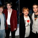 Rupert Grint and Robert Pattinson 2005/2011 91495