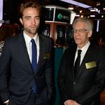 Robert Pattinson at The New York Stock Exchange with David Cronenberg 123331
