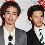 Robert Sheehan and Ben Barnes at London premiere of Killing Bono  82250