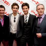 Robert Sheehan and Ben Barnes at London premiere of Killing Bono  82251