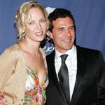 Uma Thurman and Andre Balazs at the 2005 Riverkeeper Benefit Dinner in NY 51857