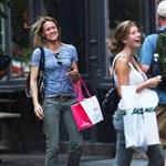 Robin Wright and daughter Dylan in New York 64418