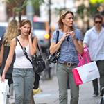 Robin Wright and daughter Dylan in New York 64419