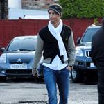 Cristiano Ronaldo yesterday in Cheshire 31996