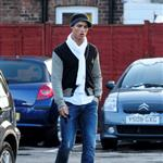Cristiano Ronaldo yesterday in Cheshire 31995