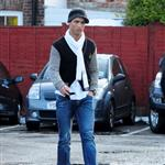 Cristiano Ronaldo yesterday in Cheshire 31994
