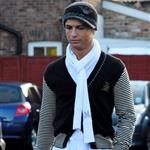 Cristiano Ronaldo yesterday in Cheshire 31992