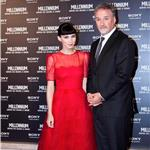 Rooney Mara and David Fincher at the premiere of The Girl with the Dragon Tattoo in Rome 102193