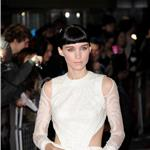 Rooney Mara at The Girl With The Dragon Tattoo World Premiere in London 100405