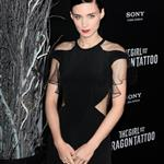 Rooney Mara at the New York premiere of The Girl with the Dragon Tattoo 100719