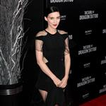 Rooney Mara at the New York premiere of The Girl with the Dragon Tattoo 100723