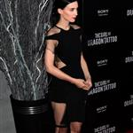 Rooney Mara at the New York premiere of The Girl with the Dragon Tattoo 100726