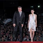 Rooney Mara and David Fincher at the Japan premiere of The Girl With The Dragon Tattoo  104368