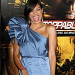 Rosario Dawson at the Los Angeles premiere Of Unstoppable 71827