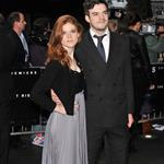 Rose Leslie and a date at the European premiere of The Dark Knight Rises 124215