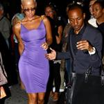 Amber Rose out last night 46994