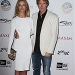 Rosie Huntington-Whiteley and Michael Bay at the Maxim Hot 100 party 85719
