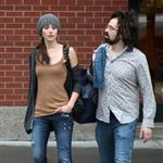Emmy Rossum and Adam Duritz shopping in Soho 50560