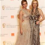 JK Rowling at the 2011 BAFTAs with her HP team 78790