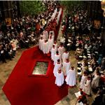 The Wedding Ceremony Takes Place Inside Westminster Abbey 84084