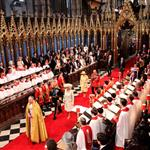 The Wedding Ceremony Takes Place Inside Westminster Abbey 84086