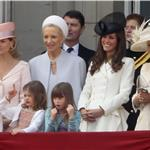 The Royal Family on the balcony Trooping the Colour 87324