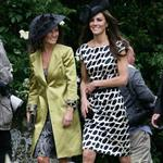 Kate and Pippa Middleton go to a wedding 87335