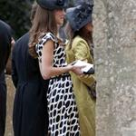 Kate and Pippa Middleton go to a wedding 87338