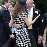 Kate and Pippa Middleton go to a wedding 87343