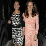 Kate and Pippa Middleton leaving Boujis 2007 87347