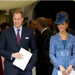 Prince William and Catherine at Prince Philip's 90th birthday service 87351