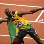 Usain Bolt wins gold at the 2012 Summer Olympics 122542