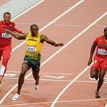 Usain Bolt wins gold at the 2012 Summer Olympics 122543