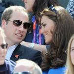 Prince William and Catherine, Duchess of Cambridge attend the match between Andy Murray of Great Britain and Nicolas Almagro of Spain in the Quarterfinal of Men's Singles Tennis on Day 6 of the London 2012 Olympic Games at Wimbledon 122201