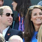 Prince William and Catherine, Duchess of Cambridge attend the match between Andy Murray of Great Britain and Nicolas Almagro of Spain in the Quarterfinal of Men's Singles Tennis on Day 6 of the London 2012 Olympic Games at Wimbledon 122208