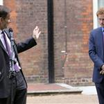Prince Harry hosts a reception for school games athletes, at Clarence House 122381