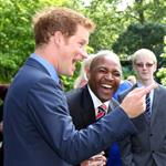 Prince Harry hosts a reception for school games athletes, at Clarence House 122384