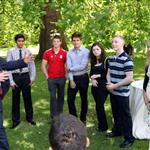 Prince Harry hosts a reception for school games athletes, at Clarence House 122390