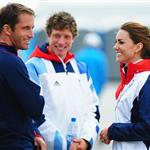 Kate checks out sailing without Will 122590