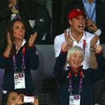 Will and Kate at Olympic Stadium 122593